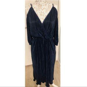 BLACK FRIDAY SALE ASOS Blue Cold Shoulder Dress
